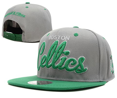 Boston Celtics NBA Snapback Hat SD17